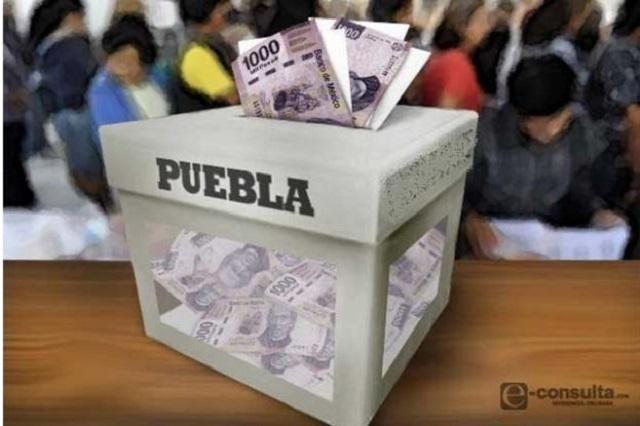 De 1.7 mdp el gasto más alto para campaña por alcaldías