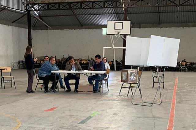 Ven mano negra de Morena en elección de la colonia México 68