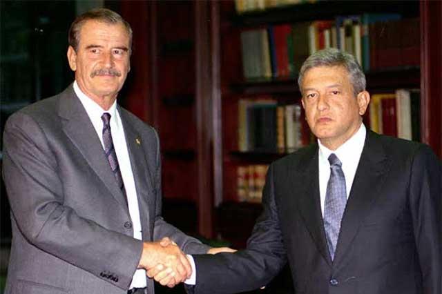 Vicente Fox, obsesionado con impedir que AMLO sea presidente en 2018