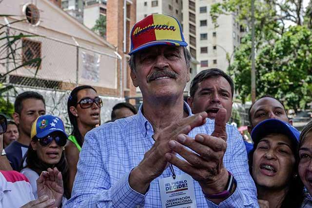 Venezuela declara persona no grata al ex presidente Vicente Fox