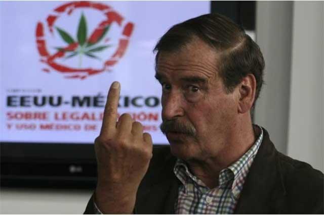 Vicente Fox aconseja sentarse a negociar con los cárteles