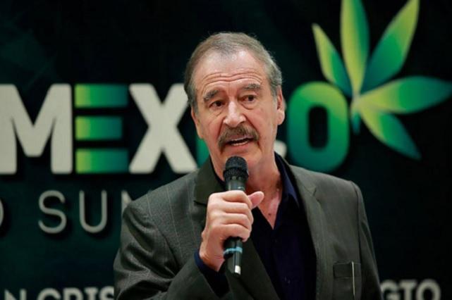 Fox pide que EPN cierre con broche de oro su sexenio y legalice la marihuana