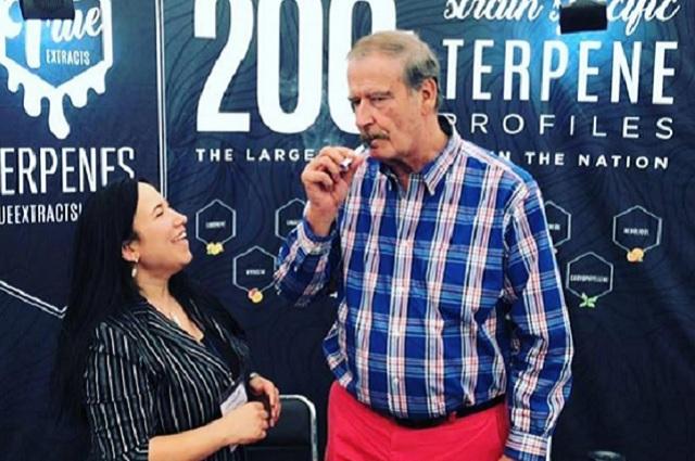 Centro Fox niega que Vicente Fox haya fumado marihuana