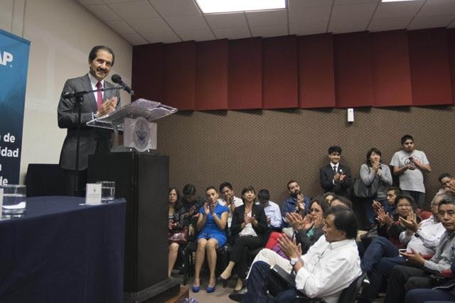 Destaca rector Esparza prestigio académico de la FCQ-BUAP