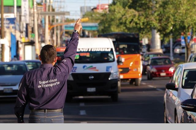 Infracciones a transporte de Puebla que sobrepasa cupo
