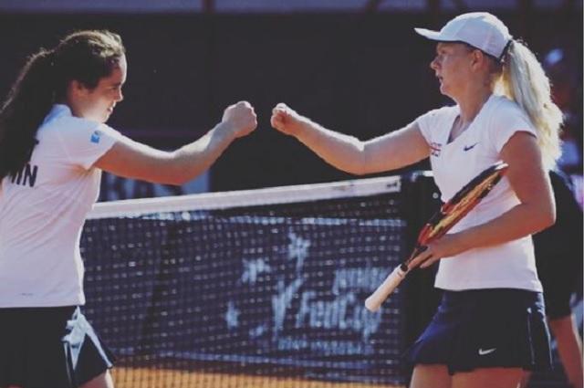 Francesca Jones, la tenista con 8 dedos que clasificó al Australian Open