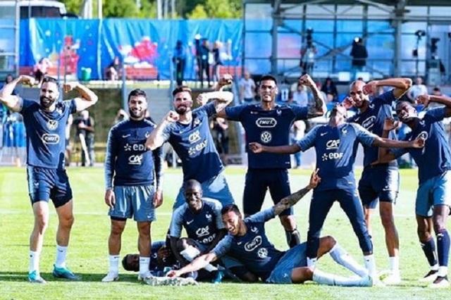 Selección de Francia presume su español al cantar al ritmo de Ozuna