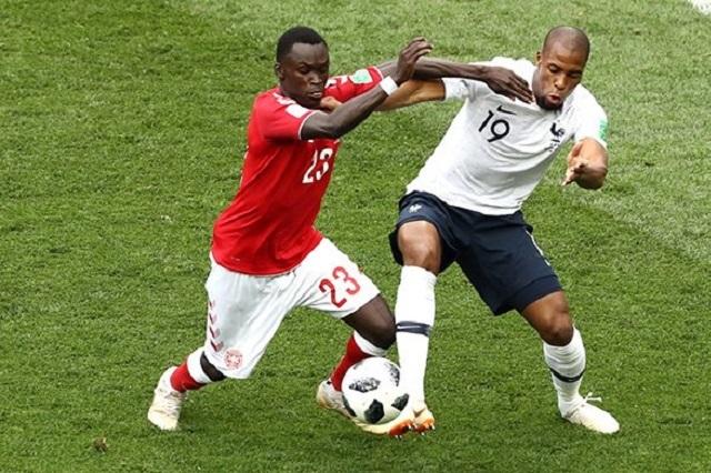 Dinamarca califica con valioso empate sin goles ante Francia