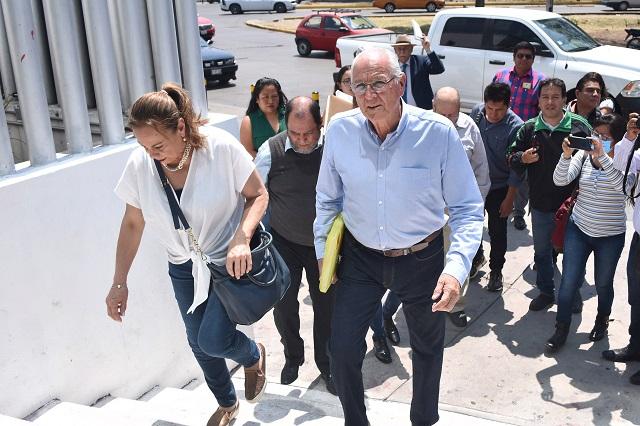 Castillo denuncia a Carrancá, Toledano y Riestra por abusos