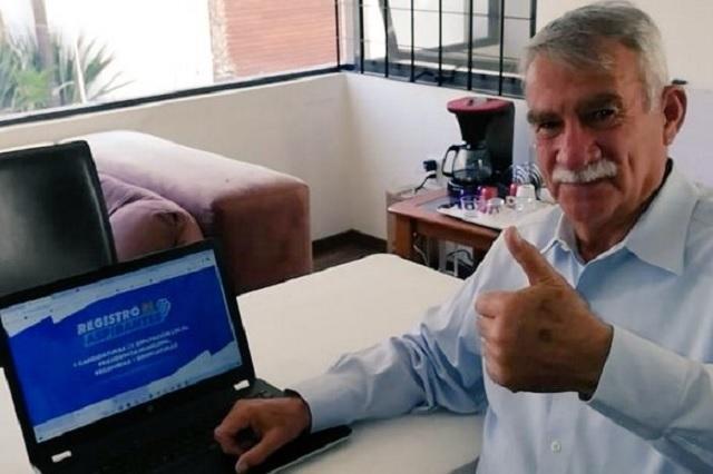 Se registra Francisco Fraile por candidatura de alcaldía en San Andrés