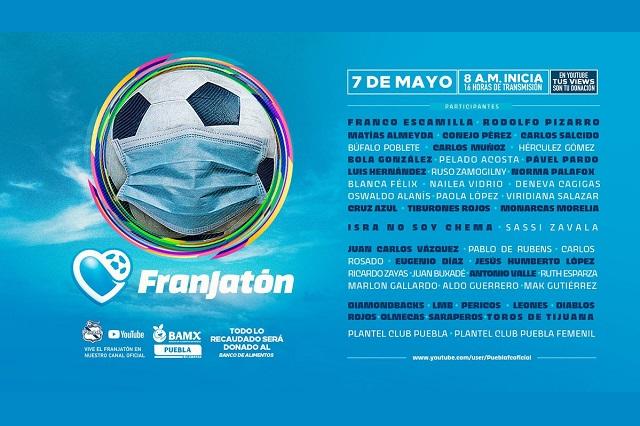 La Franja se pone la del Puebla para meter gol al Covid-19