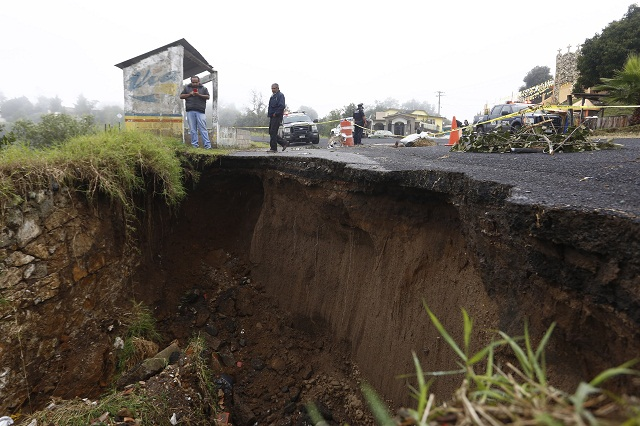 Pese a diagnóstico, municipios volvieron a padecer por lluvias