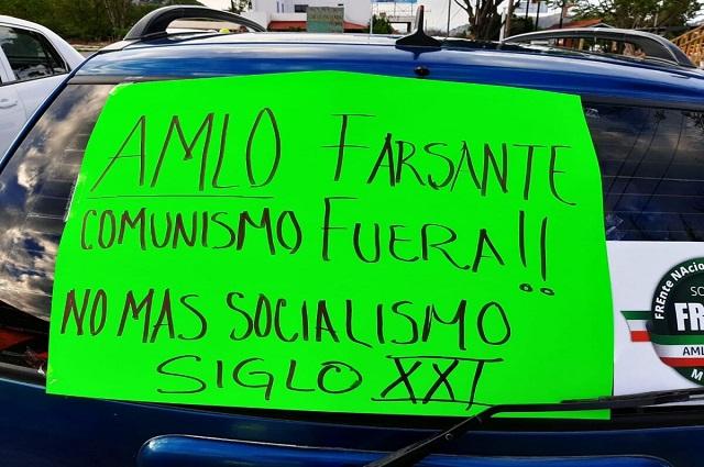 FRENA llama a protesta contra AMLO en Atlixco