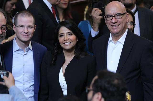 Frente va con Mancera y Anaya y elegirá en febrero a uno de los dos: Acosta