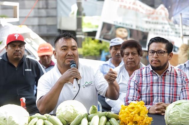 Productores de hortalizas exigen inclusión en planes del gobierno