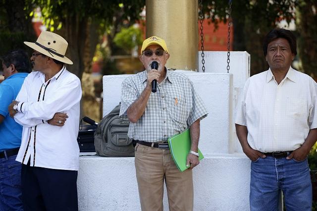 Gobierno analizará con activistas revocar concesión del agua, señalan