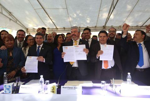 Registran en la CDMX al Frente Ciudadano por México
