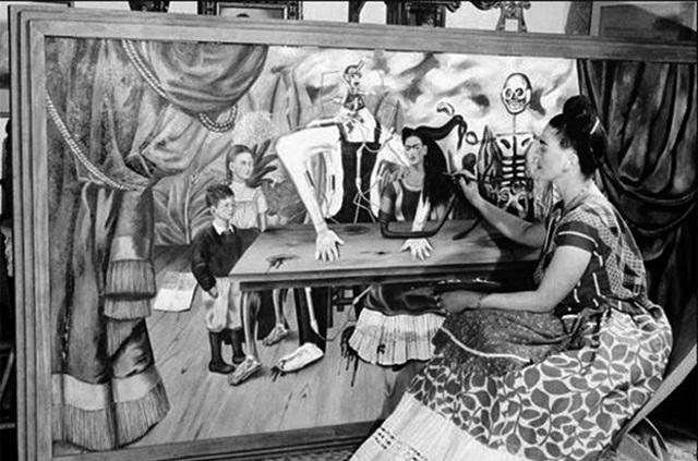La mesa herida, la obra más buscada de Frida Khalo
