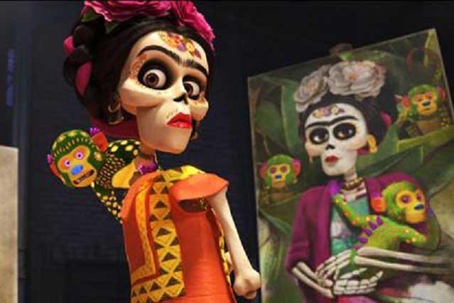 Frida Kahlo recibe homenaje en la película Coco, de Dinsey Pixar