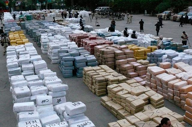 EU deja pasar 90% de la droga que le llega desde territorio mexicano