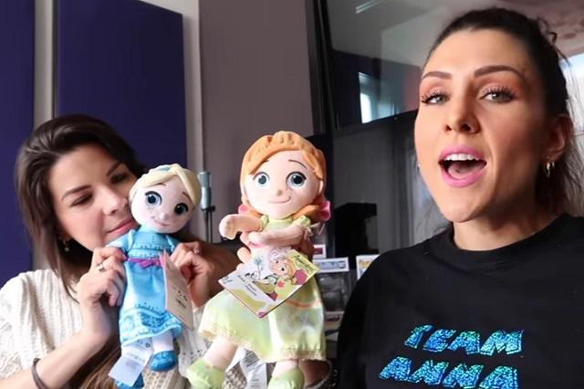 Ellos son actores que son la voz en español de personajes de Frozen 2