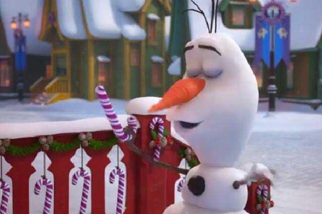 Estrenan el primer tráiler de Olaf's Frozen Adventure
