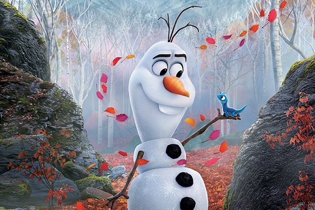 Mira 6 poster de Frozen 2 con los protagonistas de la película