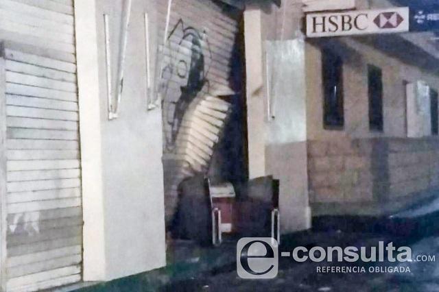 Policías frustran robo a cajero pero uno queda herido, en El Seco
