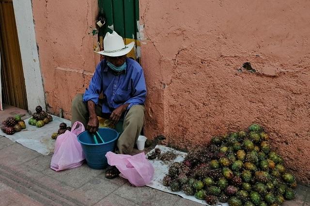 Bajan ventas de frutas de temporada en Acatlán