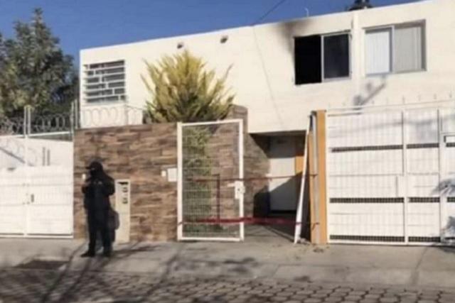 Calcinado, muere profesor al quemarse su casa en Tehuacán