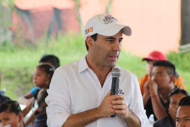 Fuera el fuero e igualdad frente a la ley, demanda Aguilar Chedraui