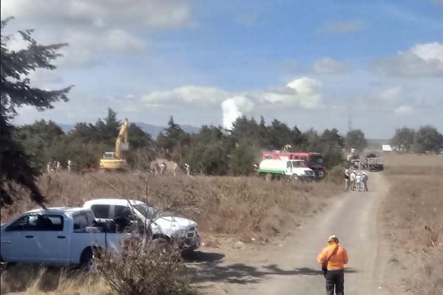 Repara Pemex fuga por toma clandestina en Esperanza