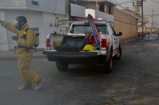 Evacuan a más de 400 alumnos por fuga de gas en Colombres