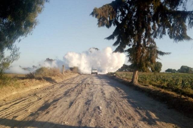 Tras 15 horas sigue fuga de gas y cierre de la Puebla-Orizaba
