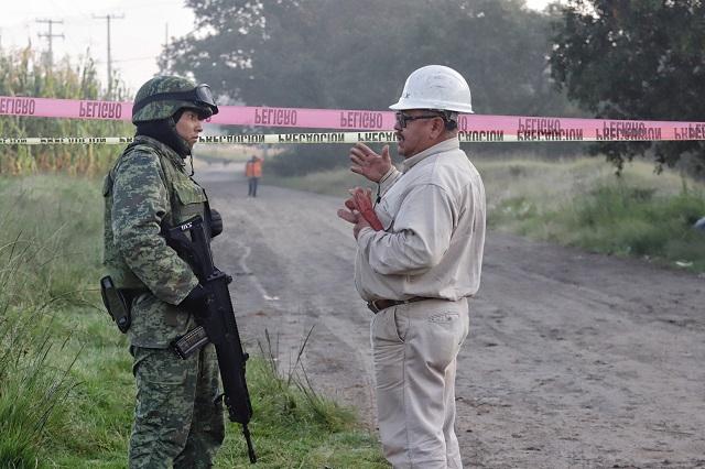 Puebla, perforado por 319 tomas clandestinas de gas LP: Pemex