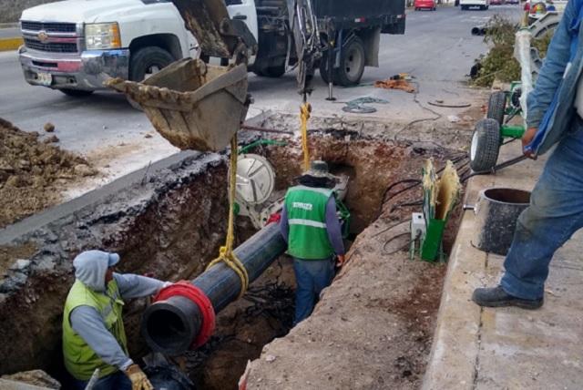 Agua de Puebla reparó 10 mil 900 fugas en Puebla en 2020