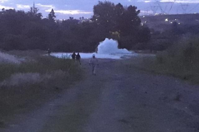 Por toma clandestina, se registra fuga de gas en Cuautlancingo
