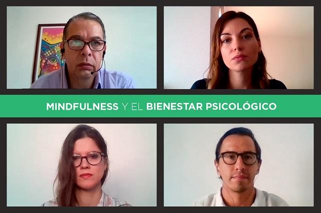 Psicólogos Udlap dialogan sobre herramientas para manejo del estrés