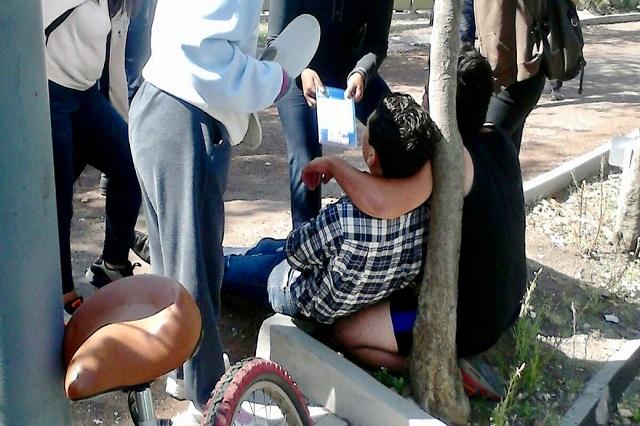 Asaltan y navajean a joven al interior del Parque Ecológico