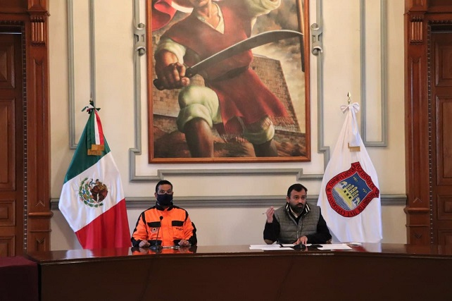 En tianguis de Puebla capital 76% cumplen decreto: Segom