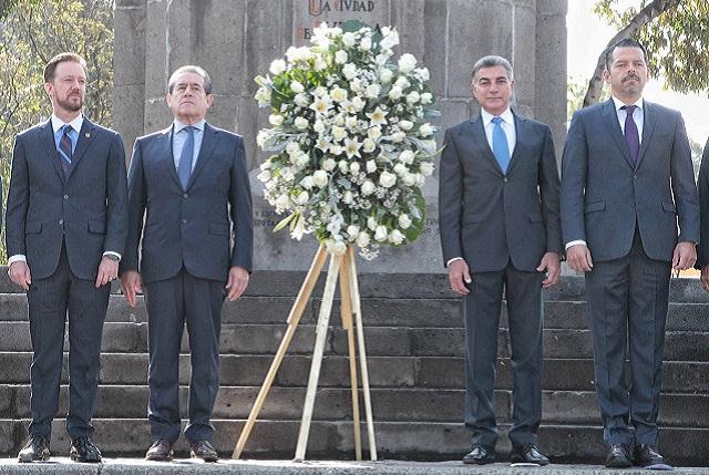 Conmemoran el 487 aniversario de la fundación de Puebla