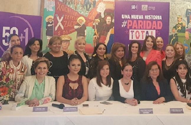 Fundan en Puebla el Movimiento 50+1 para sumar esfuerzos entre mujeres