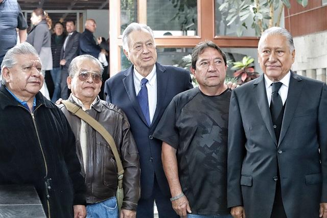 Priísmo poblano, mayoría en el funeral de Montero Ponce