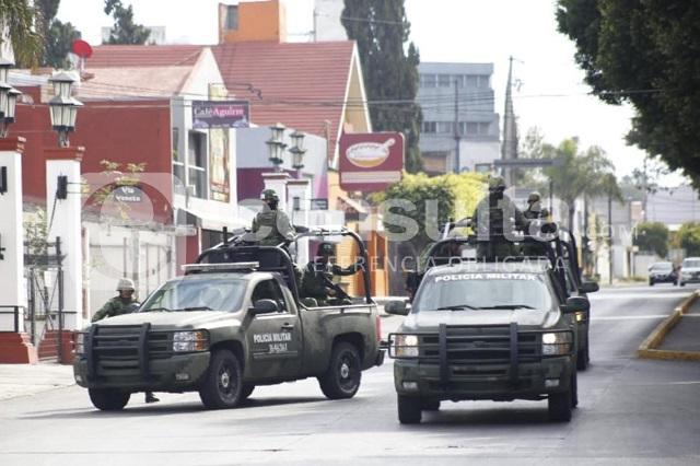 Ejército resguarda funeraria a la que llegan restos de Alonso y RMV