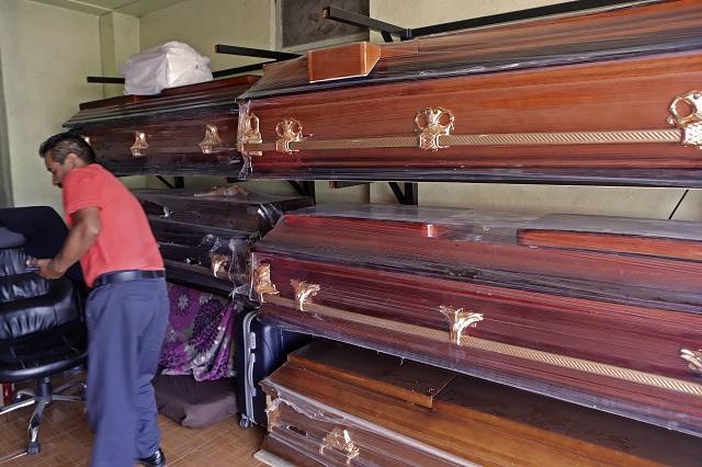 Amplían panteón en Puebla para muertos por Covid-19