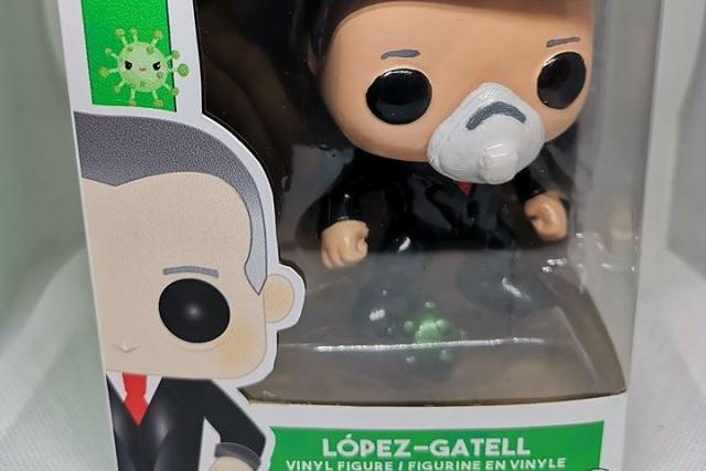 López-Gatell ya tiene su propio 'Funko' y es todo un éxito en ventas