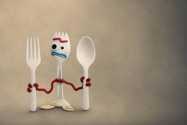 Revelan detalles de Forky, el nuevo personaje en Toy Story 4