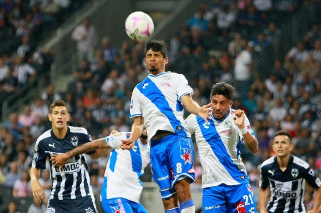Arrebata Puebla un punto a Monterrey de último minuto
