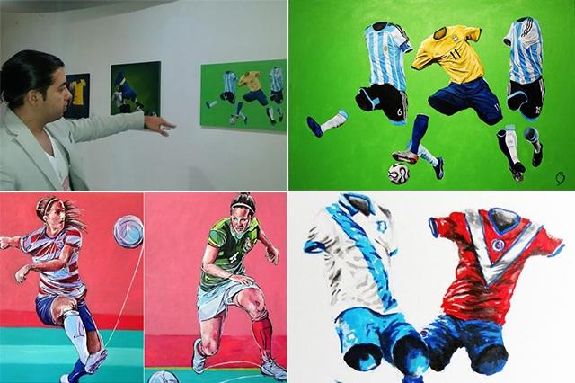 El futbol es expresión de emociones, como el arte: Betirri