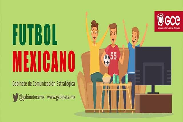 Futbol, el verdadero deporte rey en México